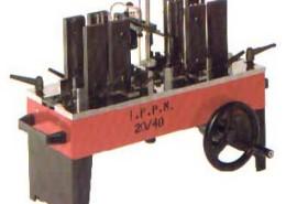 industria meccanica previdi srl impaccatrice manuale regolabile